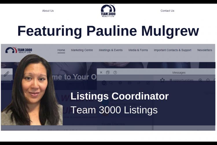 Team 3000 Listings Coordinator