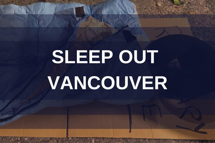 Sleep Out Vancouver Team 3000 Realty