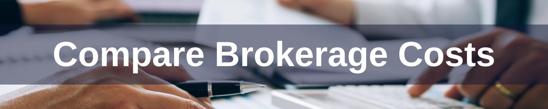 Compare Brokerage Fees